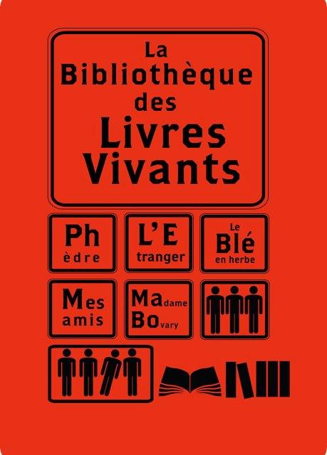 bibliothèquelivresvivantsaffiche