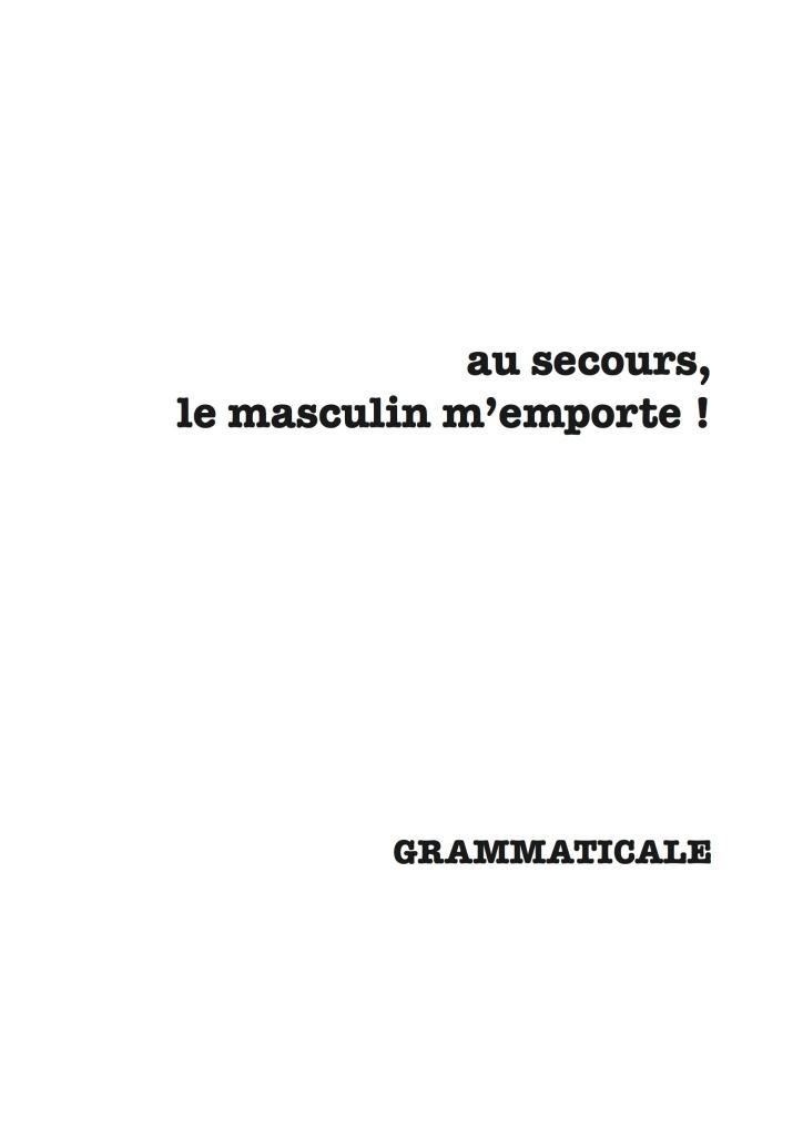 grammaticale