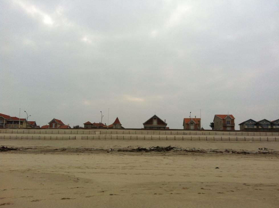 un bord de mer désuet