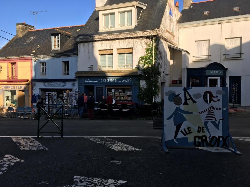 Librairie L'Écume à Groix